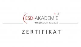 ESD Zertifikat