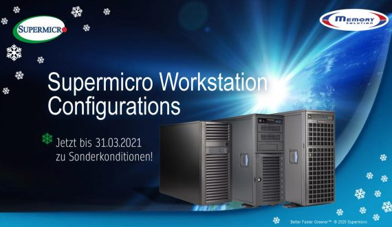 Supermicro Workstation konfigurieren