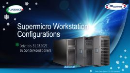 Supermicro Workstation konfigurieren